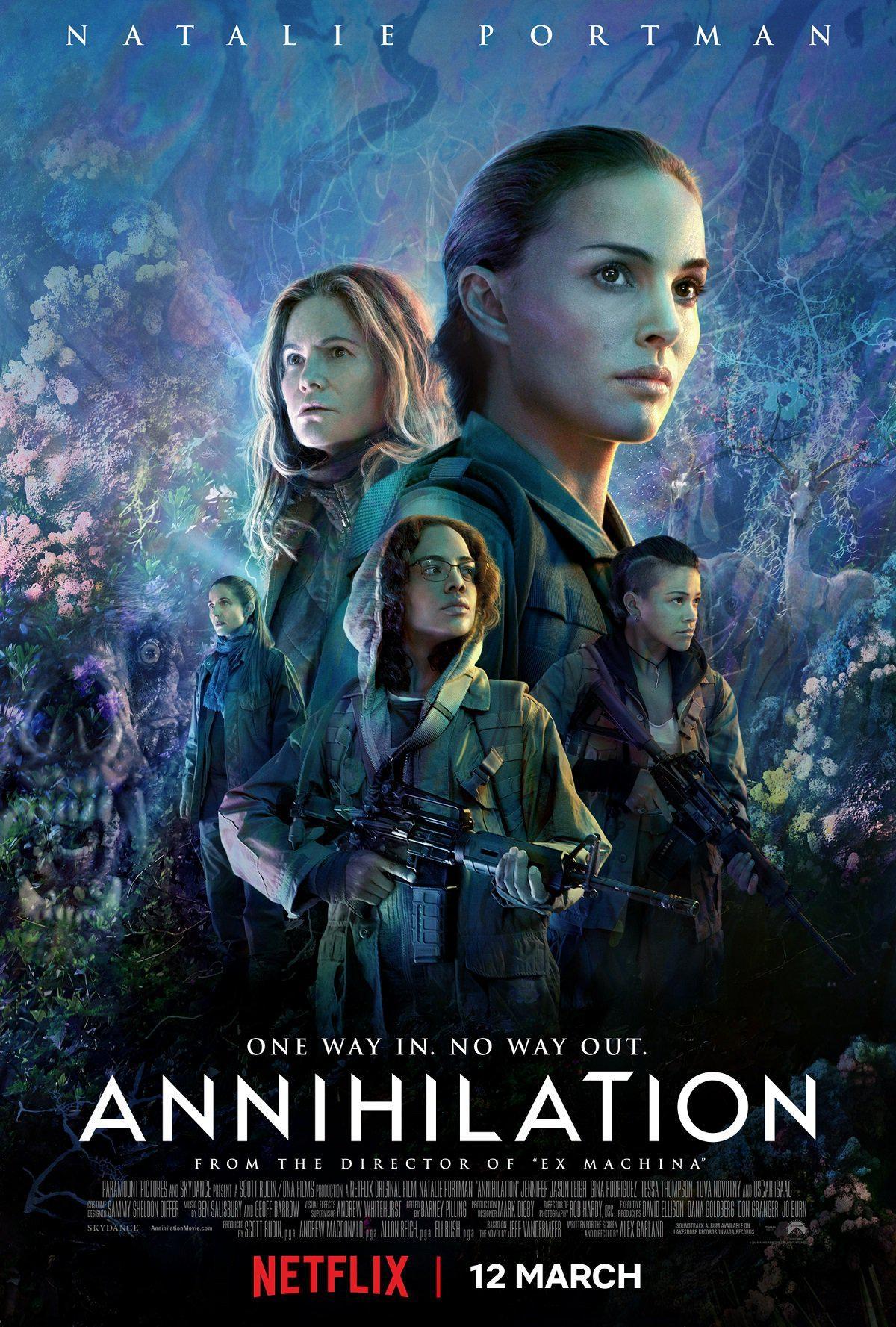 film, cinéma, netflix, annhilation, sga, Jeff VanderMeer , thriller, horrifique, nathalie portman