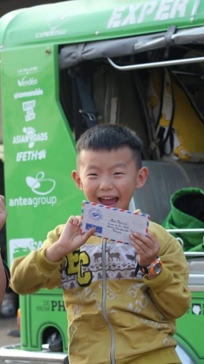 les facteurs du mékong, les enfants du mékon, aventures, humanitaire, cambodge, paris, voyage, route