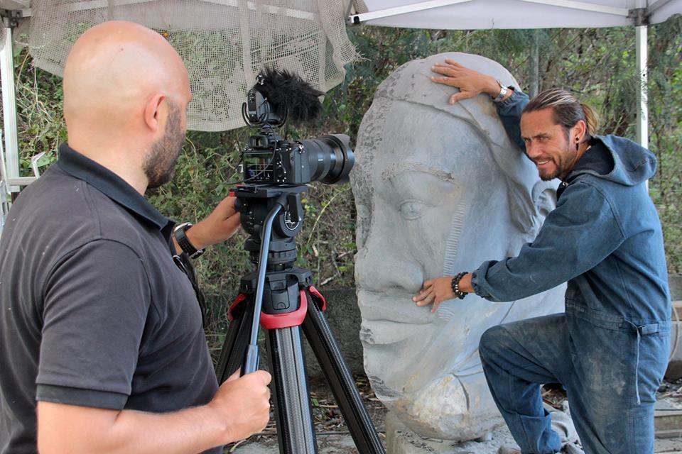 paul-Émile victor,l'étonnant voyageur,film,documentaire,stéphane dugast,ushuaia tv,tournage,groenland oriental,stéphane niveau