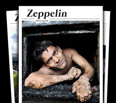 zeppelin geo,zeppelin,zeppelin edition speciale,grand reportage,reportage,presse,brunon valentin,julien pannetier