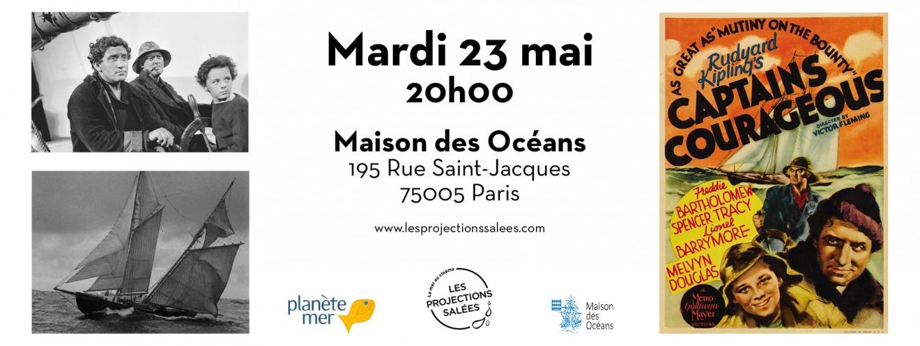cinéma,mer,pierre marcel,les projections salées,soirée,débat,maison des océans,institut océanographique,paris