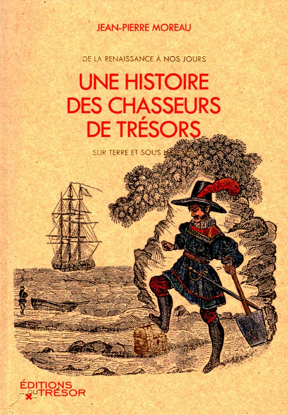 livre, histoire, mer, océan, chasseurs, trésors, jean-pierre moreau, éditions du trésor