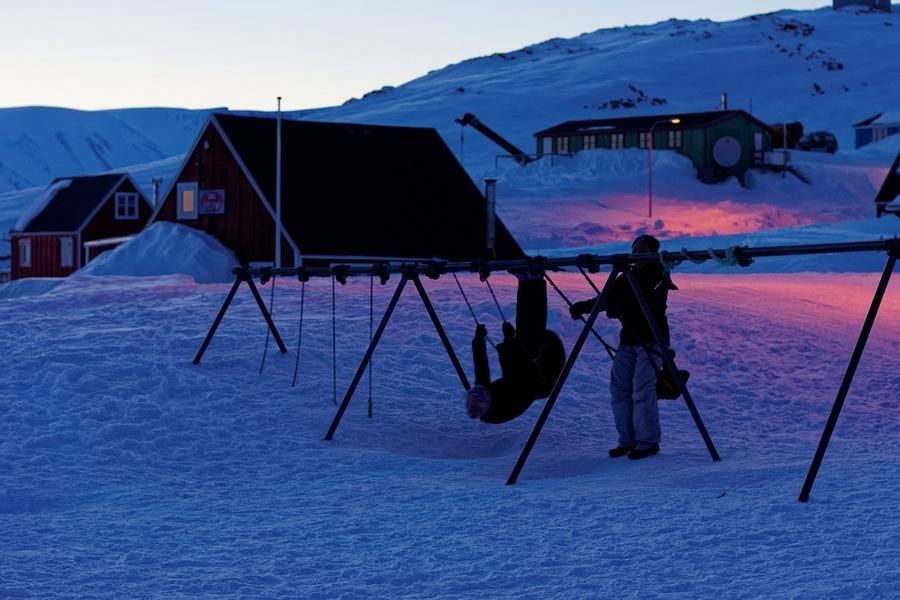 immersion,polaire,expérience i-nuit,nuit polaire,ittoqqortoormiit,groenland,dominique simonneau,diagonalegroenland,