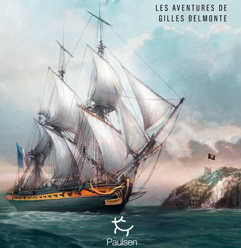 livre,le pirate de l'indien,tome 3,aventures,gilles belmonte,fabien clauw,éditions paulsen