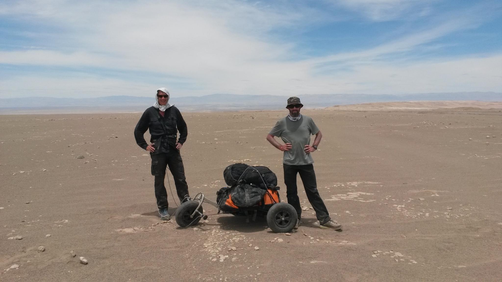 2015, Charles Hedrich et Sylvain Bazin reconnaissance Atacama.jpg