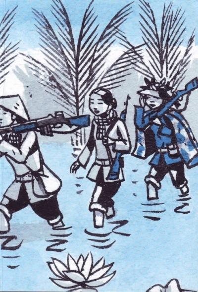 Marcelino Truong, Une si jolie petite guerre, Diên Biên Phu, Vietnam, BD, Denoël Graphic