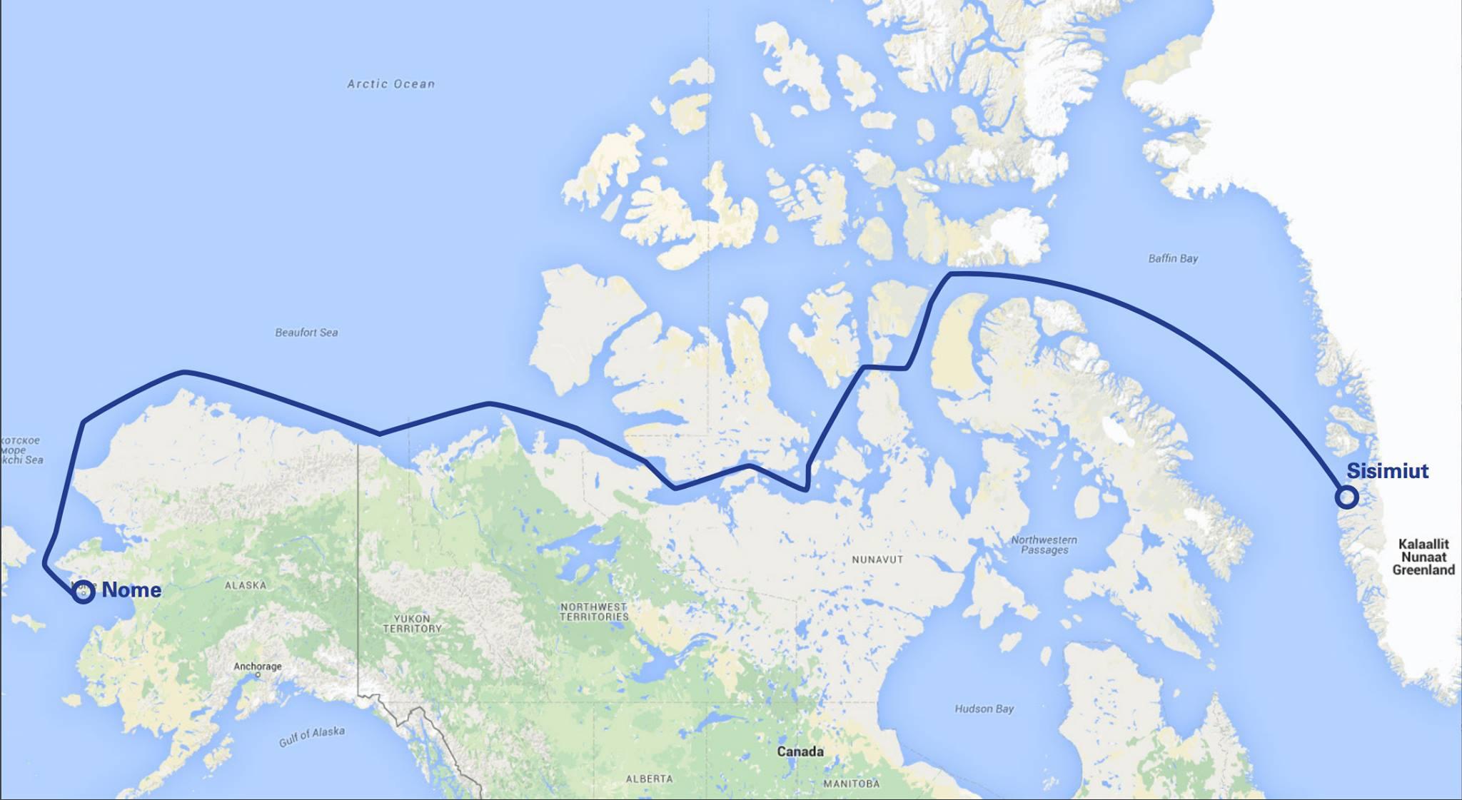 aventure, exploration, polaire, defi, yvan bourgnon, passage nord-ouest, catasport, catamaran, voile, canada, grand nord