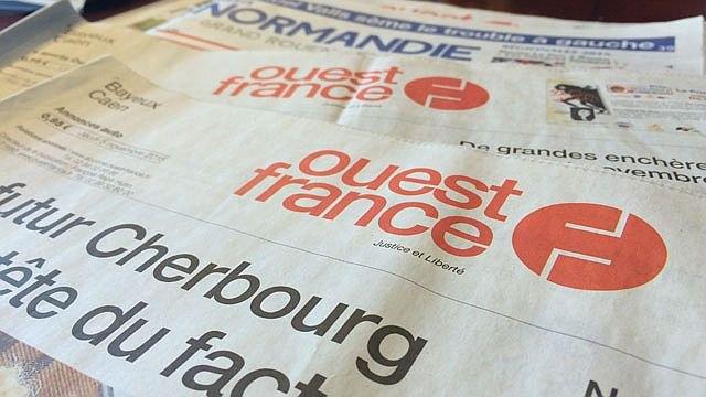 journaliste, patron de presse, françois-régis hutin, journal, ouest-france, anecdote, stéphane dugast, entretien