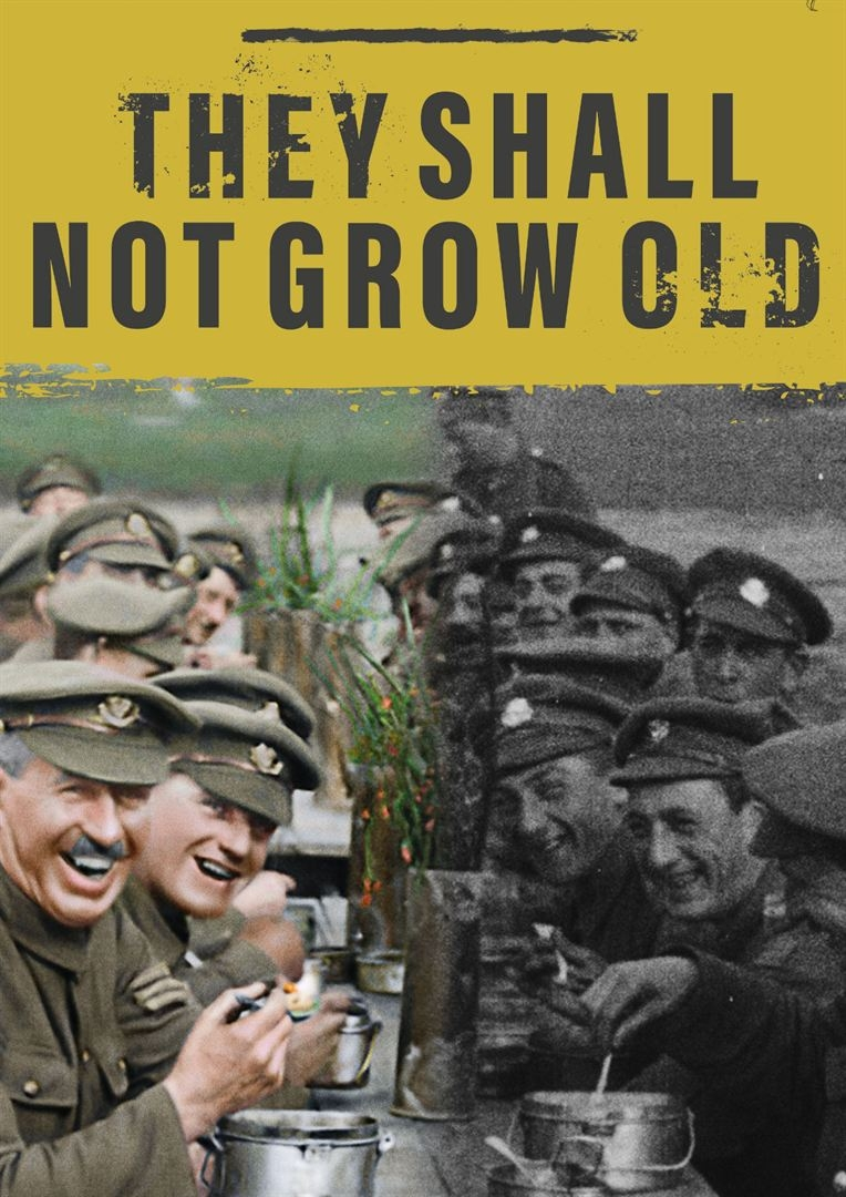film,histoire,guerre,1914-18,centenaire,cinéma,documentaire,they shall not grow old,peter jackson