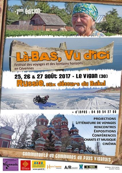 festival,édition 2017,le vigan-en-cévennes,russie,voyages,documentaires,littérature,cédric gras,sibylle d'orgeval