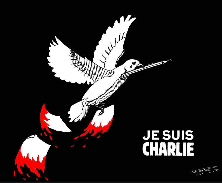 charlie hebdo,attentats,hommage,michel renaud