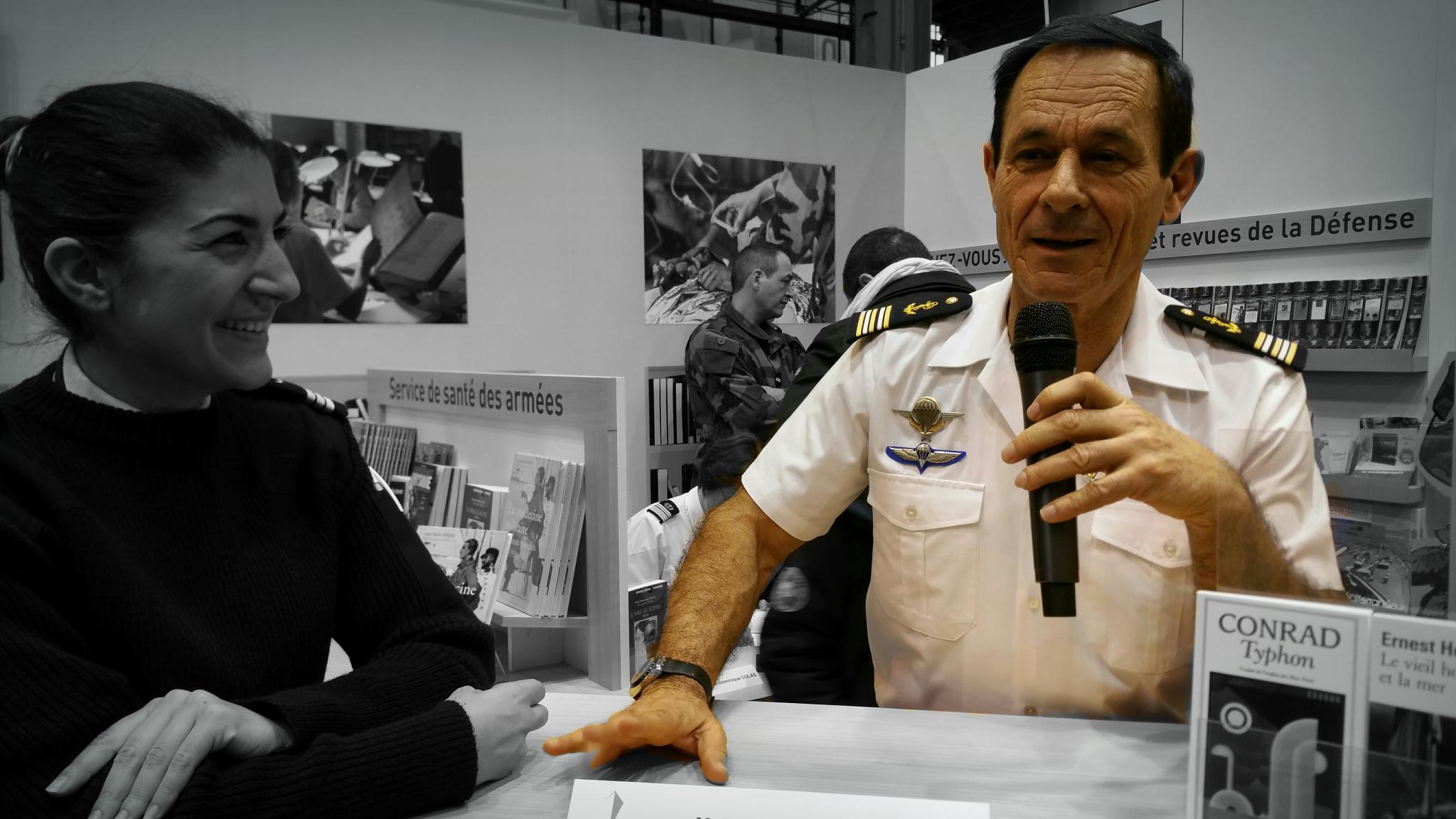 entretien,patrice franceschi,marin,kurde,aventure,littérature,ecrivain de marine,charles-de gaulle,porte avions,marine