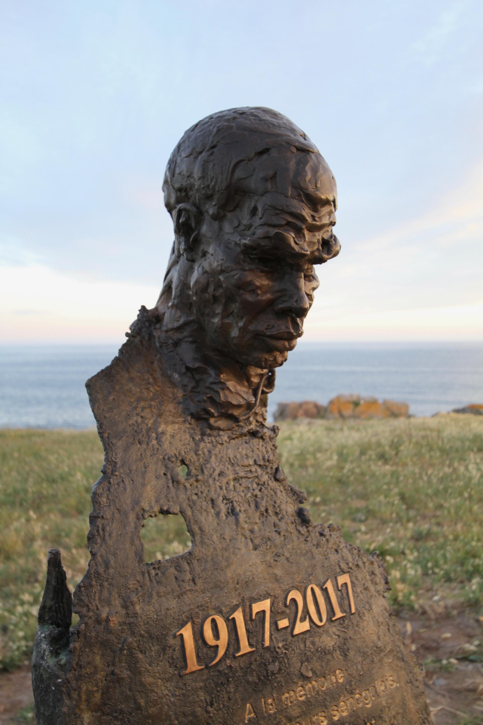 sculpture,kasper,ile d'yeu,naufrage,sequana,tirailleurs sénégalais,histoire 1917,commémorations 1917,statue