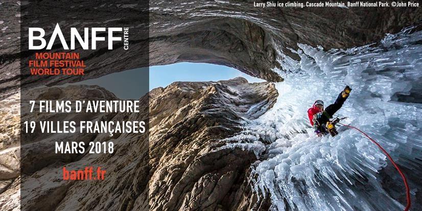 festival,film,aventure,montagne,banff,tournée,2018,adrénaline,sport,évasion,humain