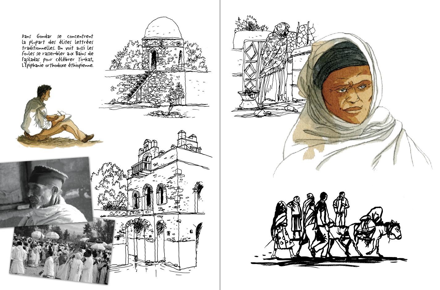 roman graphique, bd, abyssinie, traversée dessinée, Joël Alessandra, corne de l'afrique, éditions Paulsen, djibouti, éthiopie, henry de monfreid, joseph kessel, arthur rimbaud