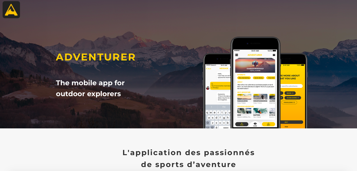 appli,adventurer,app,application,ios,android,sports,aventures,défis,technologie,web