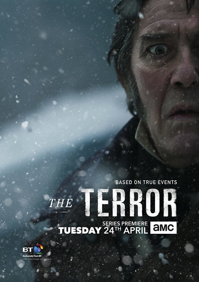 serie,tv,the terror,expedition,aventure,polaire,franklin,1840,passage,nord-ouest